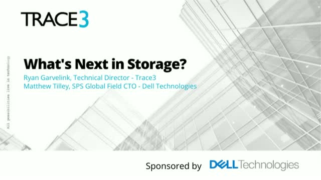 What's Next in Storage?