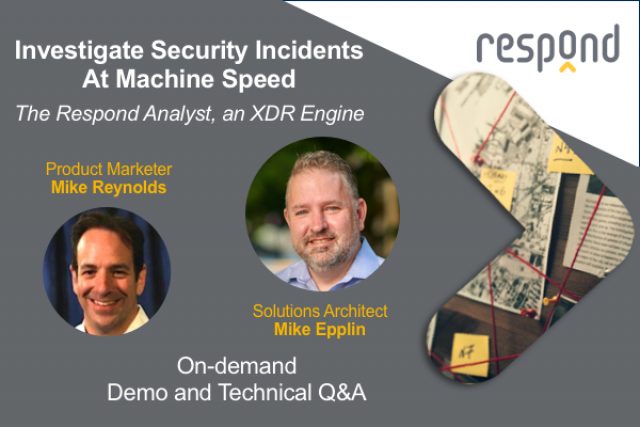 Investigate Security Incidents at Machine Speed