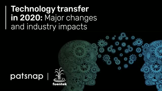 Technology transfer in 2020: Major changes and industry impacts
