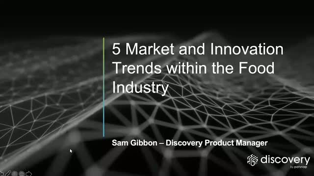 5 innovation trends within the food industry