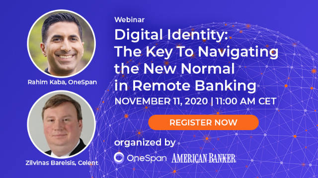 Digital Identity: The Key To Navigating the New Normal in Remote Banking