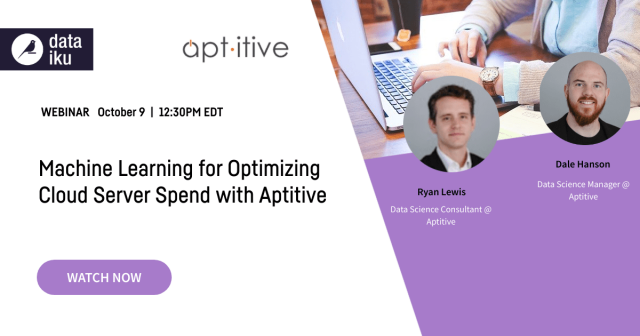 Machine Learning for Optimizing Cloud Server Spend with Aptitive