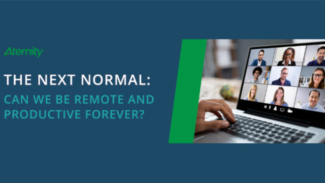 The Next Normal: Can We Be Remote and Productive Forever?