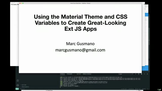 Using the Material Theme and CSS Variables to Create Great-Looking Ext JS Apps