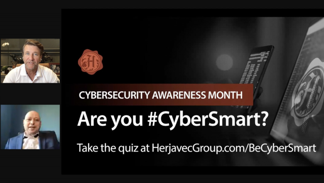 Cybersecurity Awareness Month: #BeCyberSmart Tips from HG Security Sharks