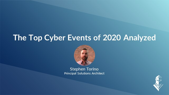 2020 Recap: The Top Cyber Events of the Year Analyzed