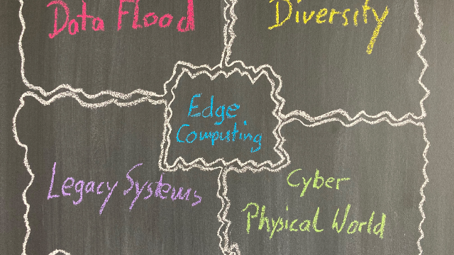 Edge Computing: Tension field between Grown Structures & the CyberPhysical World
