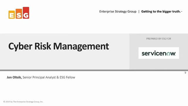 Improving your cyber risk management