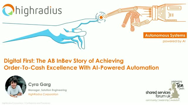 ABInBev Story of Achieving Order-To-Cash Excellence With AI-Powered Automation