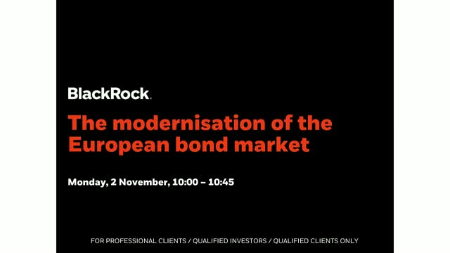 The modernisation of the European bond market