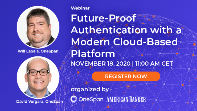Future-Proof Authentication with a Modern Cloud-Based Platform