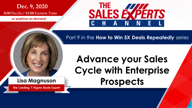 Advance your Sales Cycle with Enterprise Prospects