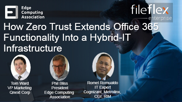 How Zero Trust Extends Office 365 Functionality into a Hybrid-IT Infrastructure