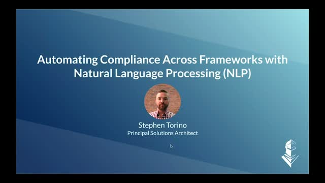 Automating Compliance Across Frameworks with Natural Language Processing (NLP)