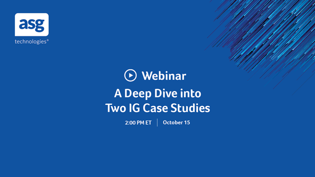 A Deep Dive into Two IG Case Studies