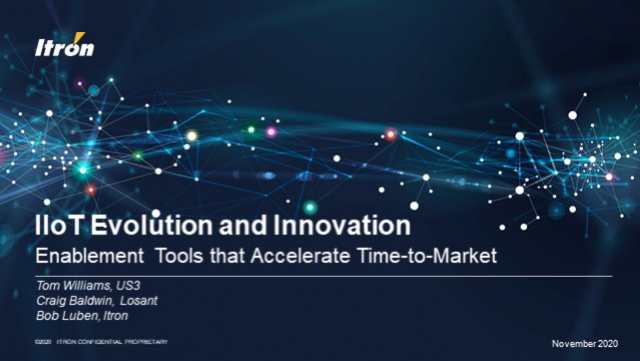 IIoT Evolution and Innovation: Enablement Tools that Accelerate Time-to-Market