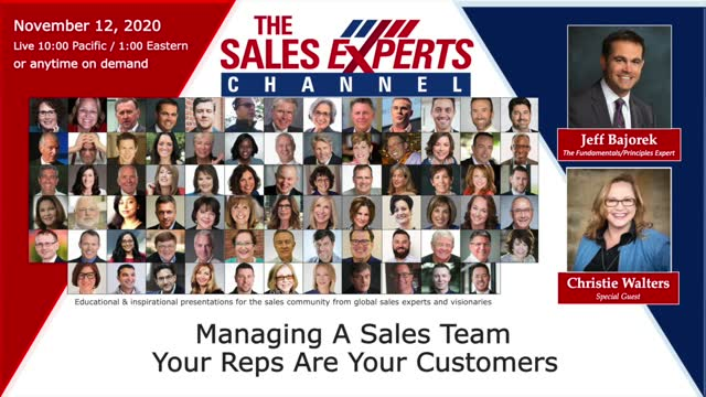 Managing a Sales Team- Your Reps Are Your Customers