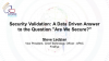 """GovWare Focus 2020   A Data Driven Answer to the Question """"Are We Secure?"""""""