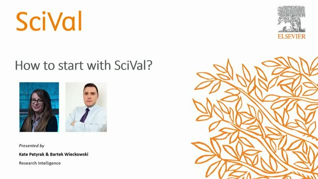 How to start your adventure with SciVal?