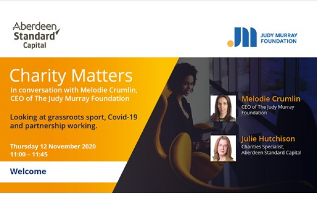 Charity Matters - In conversation with The Judy Murray Foundation