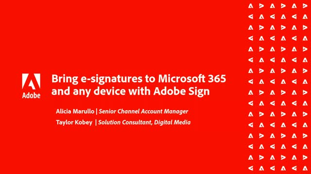 Dell & Adobe Bring e-signatures to Microsoft 365 and any device with Adobe Sign