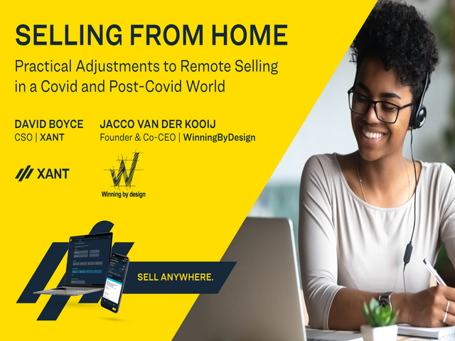 Selling From Home: Practical Adjustments to Remote Selling in a COVID World