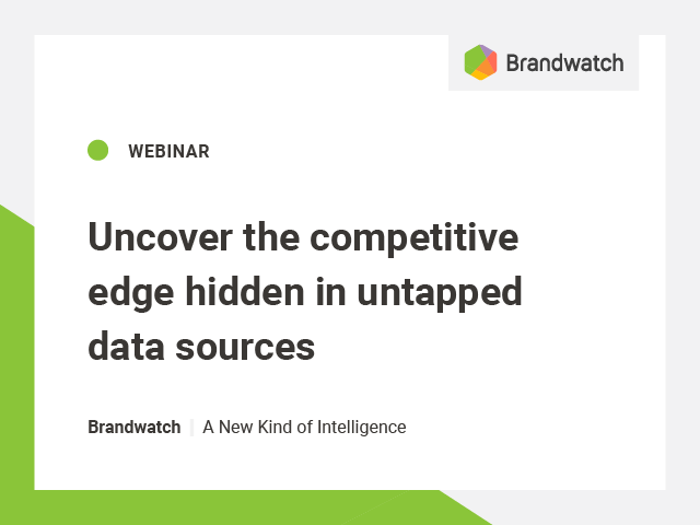 Uncover the competitive edge hidden in untapped data sources