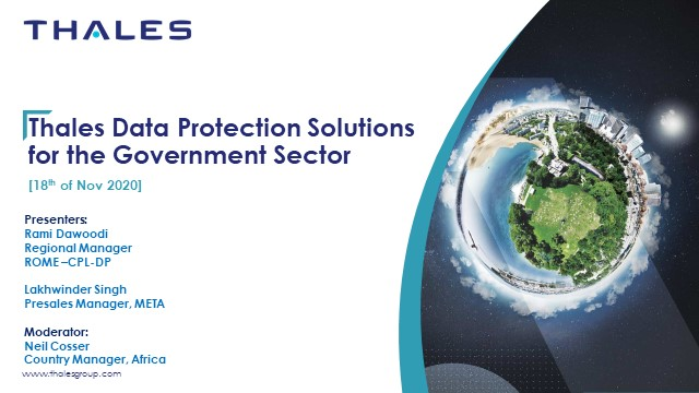 Ensuring Data Protection for Governments to Safeguard Critical Data