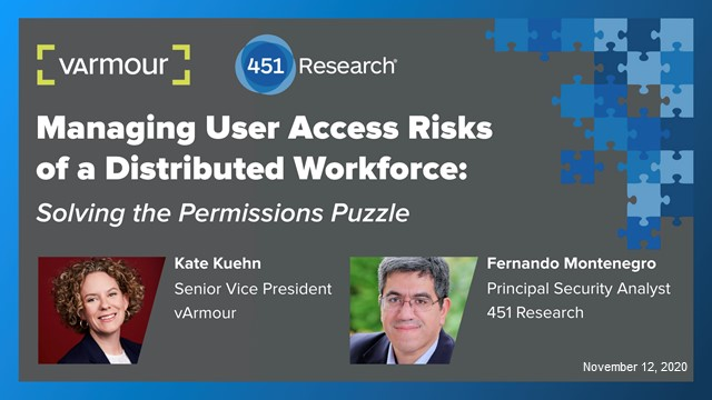 Managing User Access Risks of a Distributed Workforce: The Permissions Puzzle