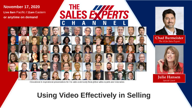 Using Video Effectively in Virtual Selling