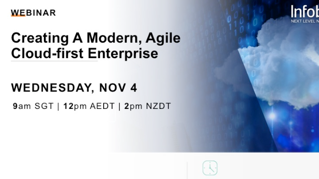 Creating a Modern, Agile Cloud-first Enterprise (APAC)