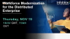 Workforce Modernization for the Distributed Enterprise (EMEA)