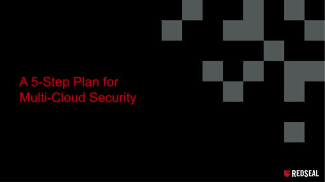 A 5 Step Plan for Multi-Cloud Security