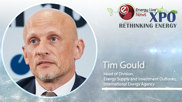 Energy Live Xpo headline session - Tim Gould