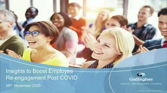 Insights to boost employee re-engagement post Covid-19
