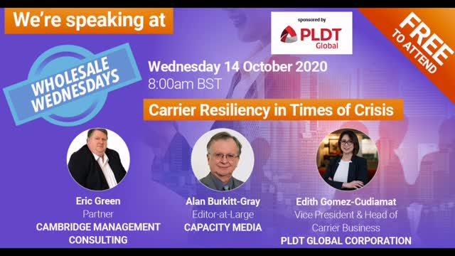 Wholesale Wednesdays | Carrier Resiliency in Times of Crisis