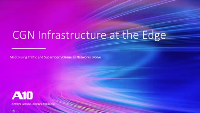 Carrier Grade Networking at the Edge