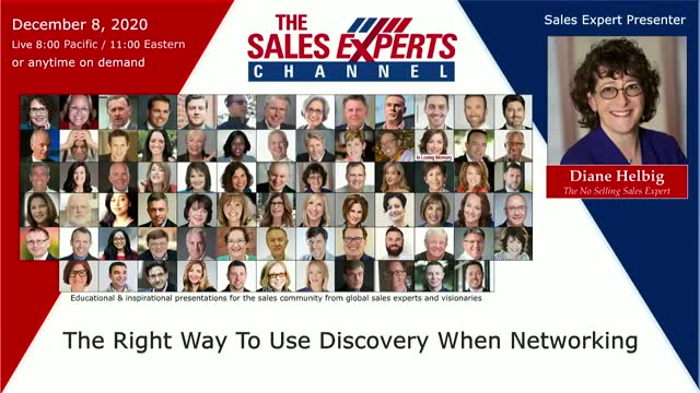 The Right Way To Use Discovery When Networking