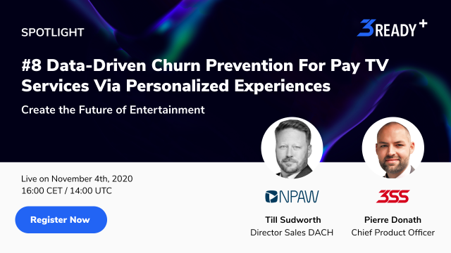 #8 Data-Driven Churn Prevention For Pay TV Services Via Personalized Experiences