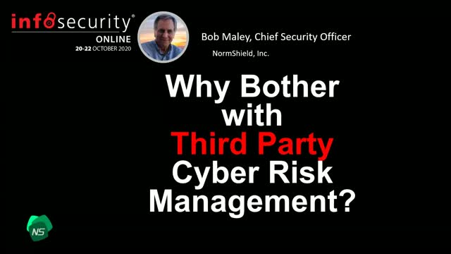 Why Bother With 3rd Party Cyber Risk Management?