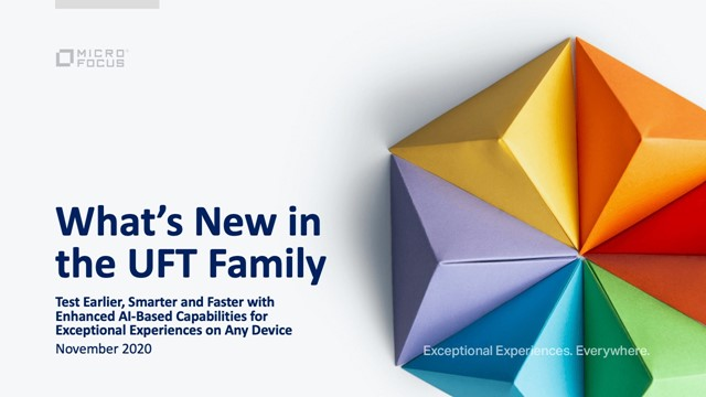 What's new in the UFT Family