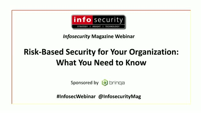 Risk-Based Security for Your Organization: What You Need to Know