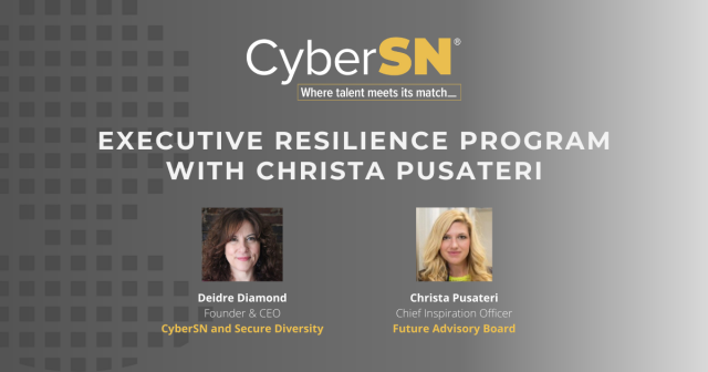 Executive Resilience Program With Christa Pusateri
