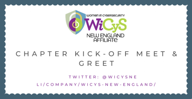 WiCys New England September 2020 Kick-Off