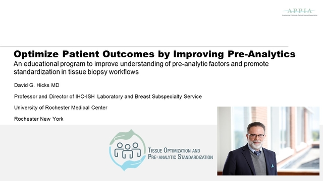 Optimize Patient Outcomes by Improving Pre-Analytics