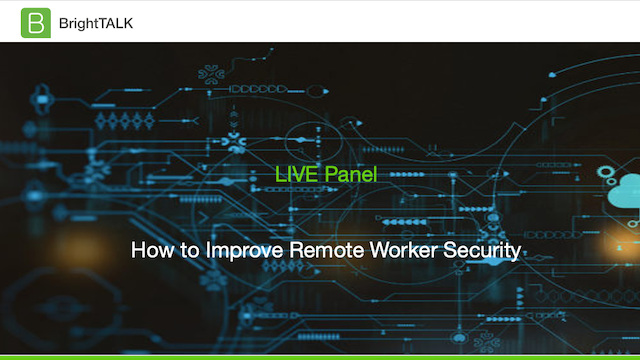 How to Improve Remote Worker Security