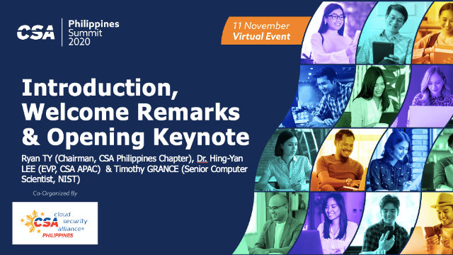 Introduction, Welcome Remarks & Opening Keynote