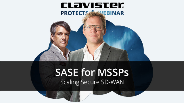 SASE for MSSPs - Scaling Secure SD-WAN