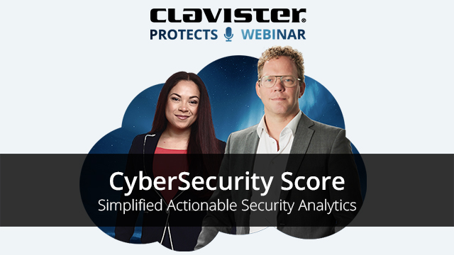 CyberSecurity Score - Simplified Actionable Security Analytics