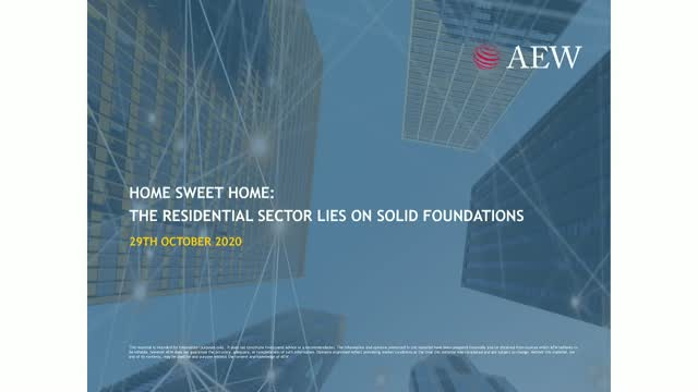AEW Research: Home Sweet Home - The Residential Sector Lies On Solid Foundations